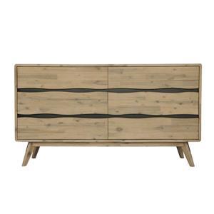 "CDI Furniture Orson Dresser - 62.99"" x 34.84"" - Wood - Natural"