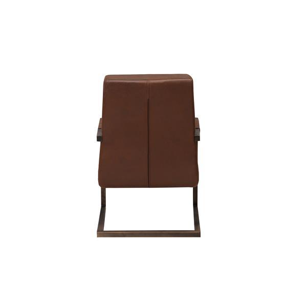"""Chaise Cruiser, 25"""" x 32,67"""", microfibre, brun"""