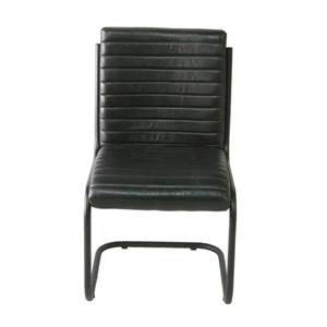"CDI Furniture Nevis  Chair - 22.5"" x 34.5"" - Leather - Black"