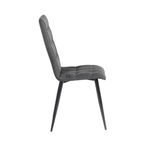 "Harper  Chair - 17.72"" x 36.61"" - Polyester - Black"