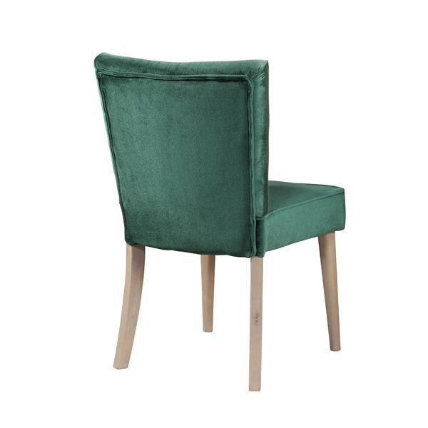"""Chaise Capri, 24"""", polyester, vert"""