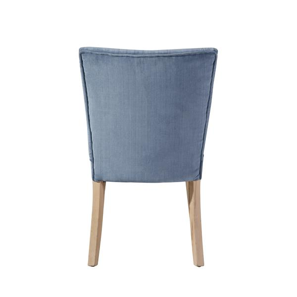 "Capri  Chair - 24"" x 34"" - Polyester - Blue"