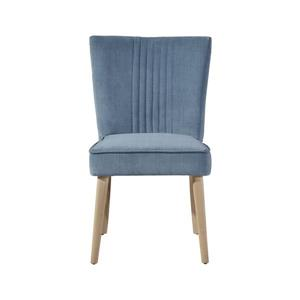 "CDI Furniture Capri  Chair - 24"" x 34"" - Polyester - Blue"