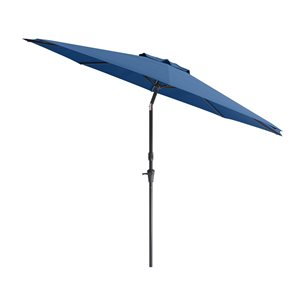 UV and W-d Resistant Tilt-g Patio Umbrella