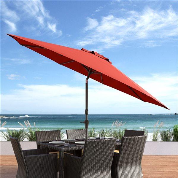 UV and W-d Resistant Tilt-g Patio Umbrella