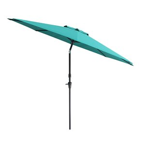 CorLiving UV and W-d Resistant Tilt-g Patio Umbrella
