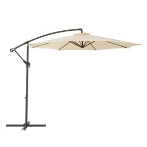 Offset Patio Umbrella - Warm White