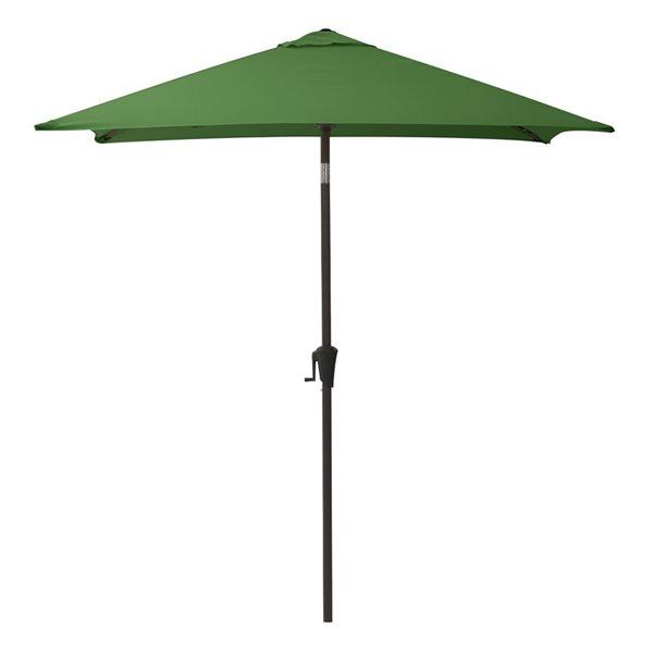 Parasol carré forêt verte