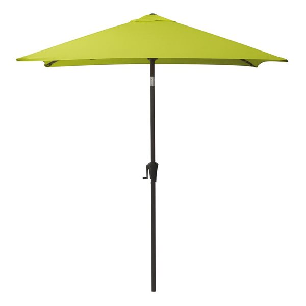 CorLiving Square Patio Umbrella - Lime Green