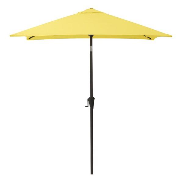 Parasol carré jaune