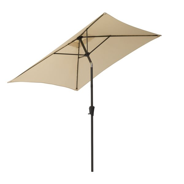 Parasol carré blanc chaud