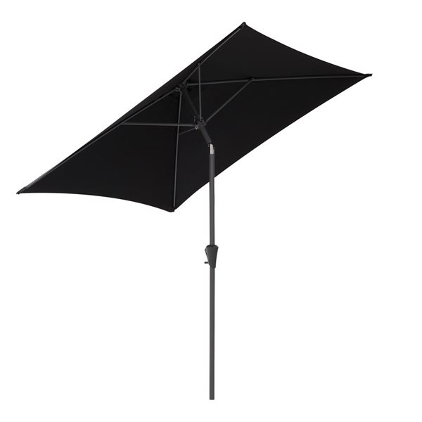 Parasol carré noir