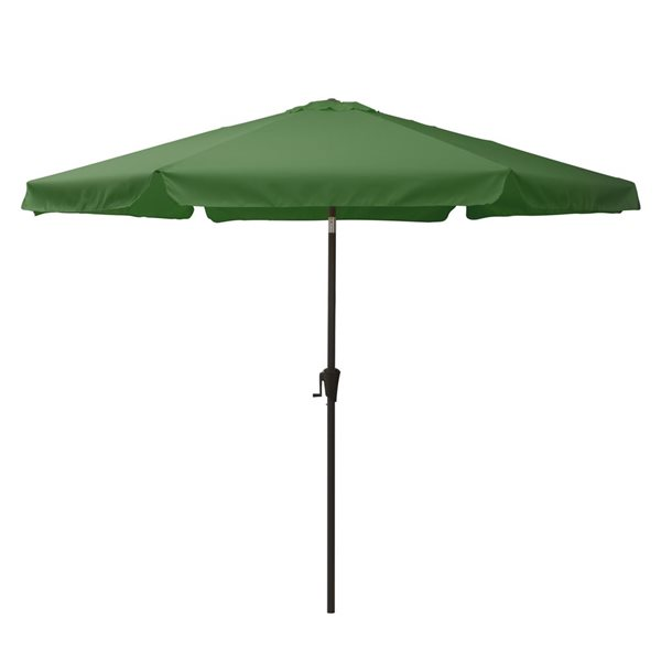 CorLiving Tilt-g Patio Umbrella - Forest Green