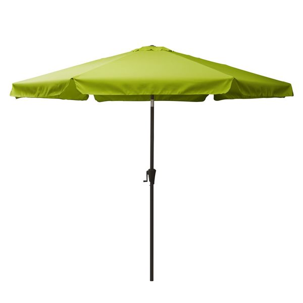 Parasol inclinable vert lime