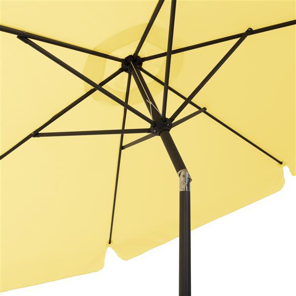 Parasol inclinable jaune
