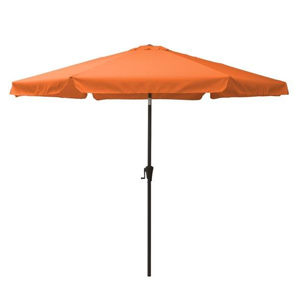CorLiving Tilt-g Patio Umbrella - Orange