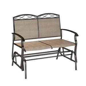 Patio Double Glider - Brown