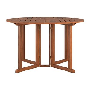 CorLiving Outdoor Dining Table - Brown