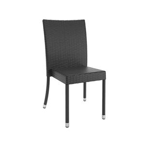 CorLiving Patio Dining Chairs - 4 PK - Black
