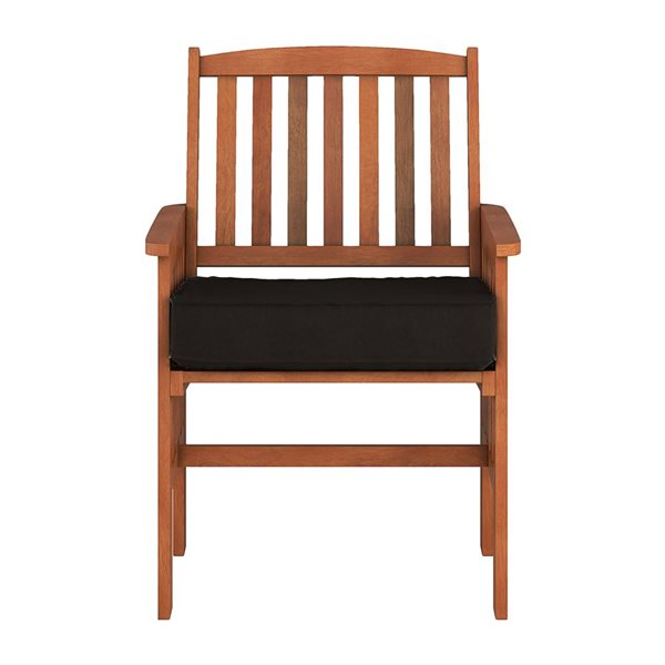 CorLiving Outdoor Armchairs - 2 Pieces- Brown