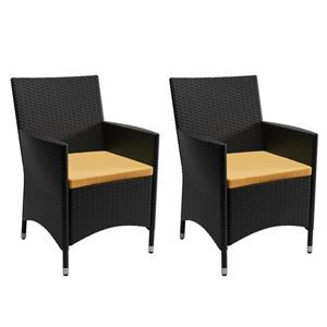 Ensemble de chaises de patio, 2 mcx