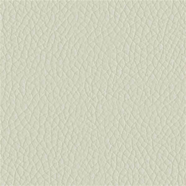 Fauteuil inclinable en cuir reconstitué, crème