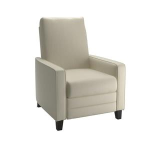 CorLiving Bonded Leather Recliner -Cream