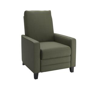 CorLiving Linen Fabric Recliner - Grey