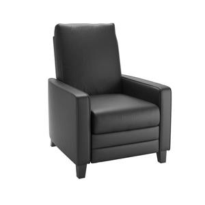 CorLiving Bonded Leather Recliner - Black