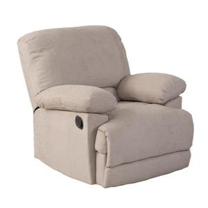 CorLiving Beige Chenille Fabric Recliner