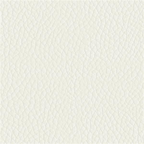 Fauteuil inclinable en cuir reconstitué, blanc