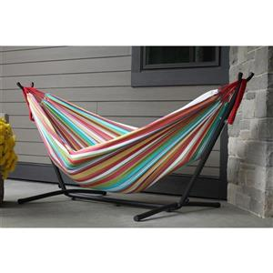 Vivere Combo - Double Salsa Hammock with Stand - 9ft