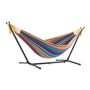Vivere combo-double hamac tropical avec support, 9'