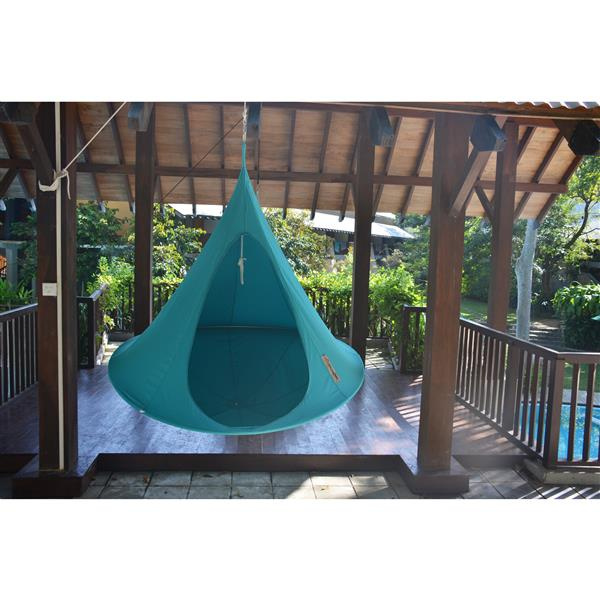 Vivere Double Cacoon -Turquoise - 72-in