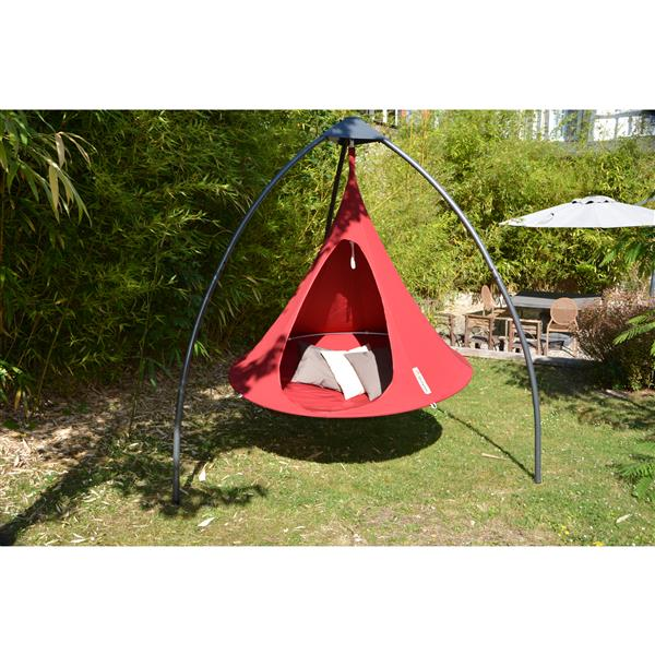 """Vivere Double Cacoon - Chili Red - 72"""""""