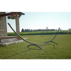 Vivere Arc Hammock Stand Steel - Oil Rubbed Bronze - 15-ft
