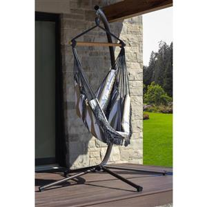 Vivere Brazilian Hammock Chair - Desert Moon - 30-in