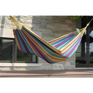 Vivere Brazilian Style Hammock Double - Tropical - 12-ft
