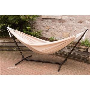 Hamac Sunbrella avec support, Tan