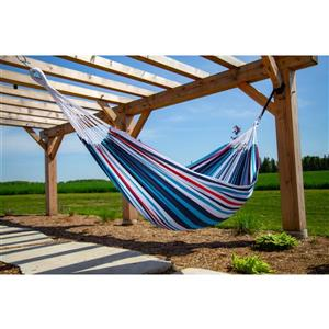 Vivere Brazilian Style Hammock Double - Denim - 12-ft