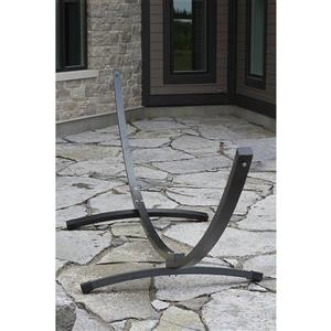 Vivere Hammock Stand Aluminum - Oil Rubbed Bronze - 15-ft