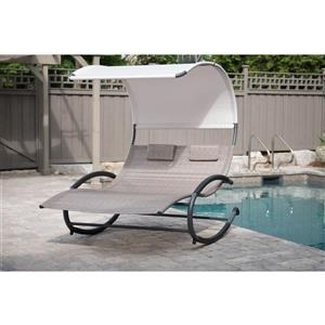Vivere Double outdoor rocking chair, Sienna