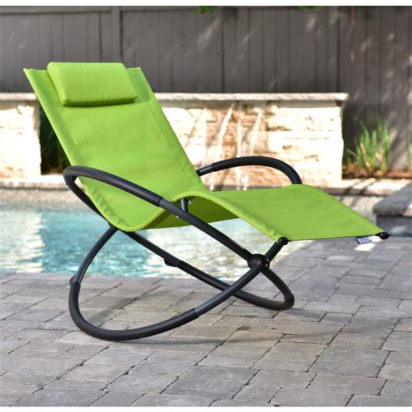 Vivere Orbital Single Lounge chair - Green Apple