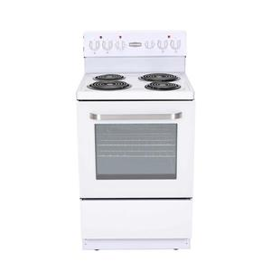 Marathon 24-in 4-Element Coil Top Electric Range (White)