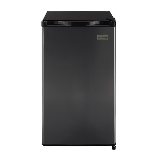 Marathon Black Steel Compact All Refrigerator - 4.5 cu.ft.