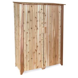"All Things Cedar Garden Storage Unit - Cedar - 49"" x 73"" x 23"""