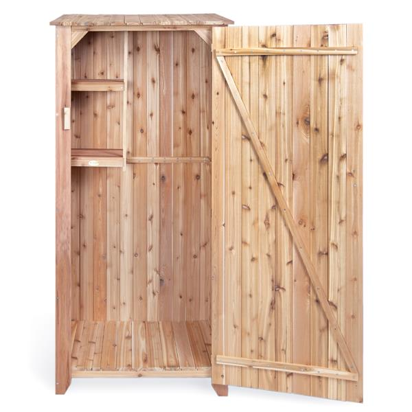 "Meuble rangement All Things Cedar pour jardin 34""x 23""x 73"""