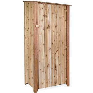 "All Things Cedar Garden Storage Unit - 34""x 23""x 73"""