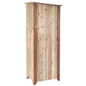 "All Things Cedar Garden Storage Unit - 27""x 20""x 73"""