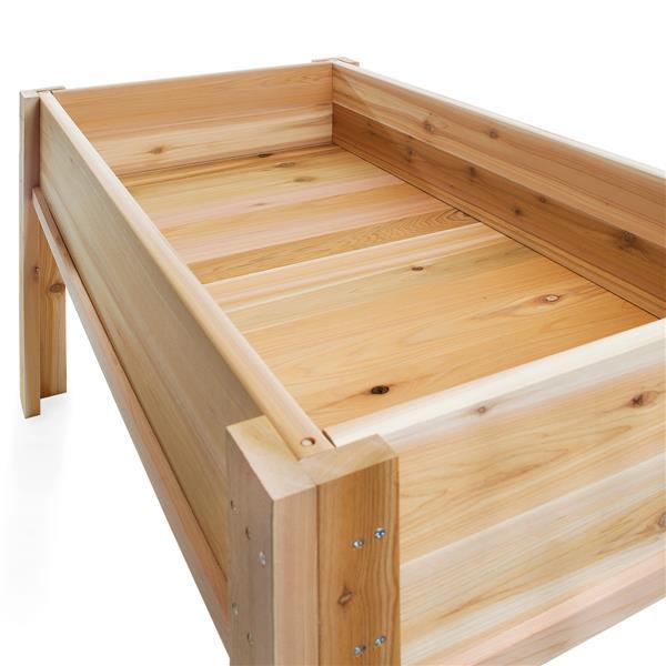 All Things Cedar Raised Garden Box 4 Ft Rgl34 Rona